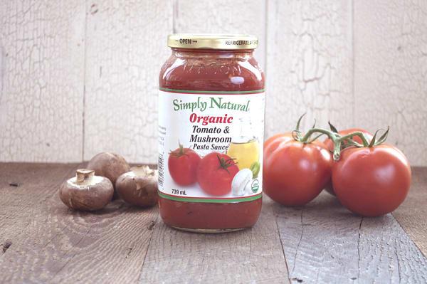Organic Tomato & Mushroom Pasta Sauce