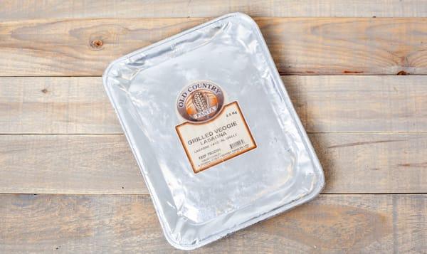 Grilled Veggie Lasagna (Frozen)