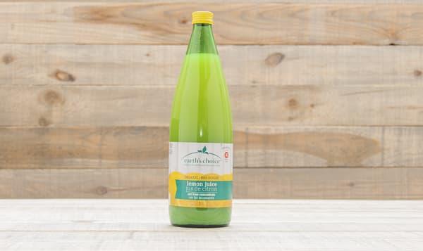 Organic Lemon Juice