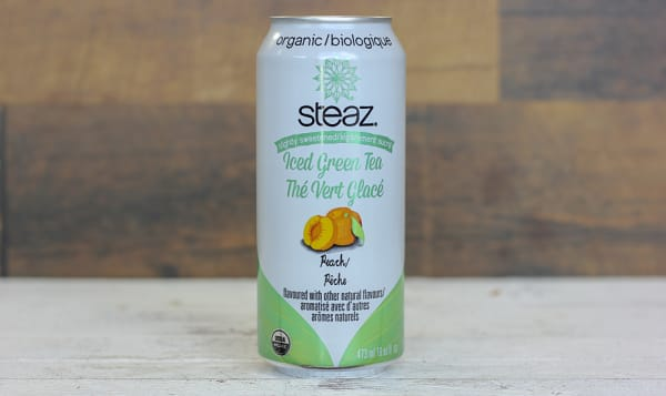Organic Peach Iced Tea