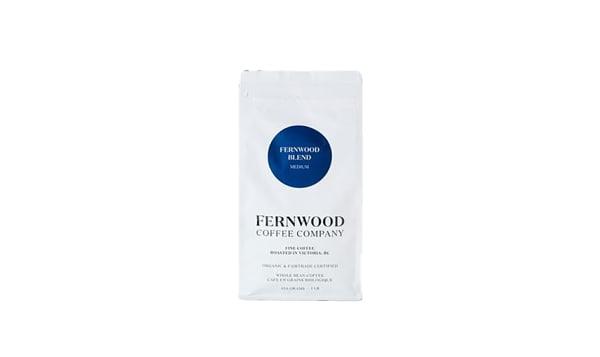 Organic Fernwood Blend Medium Roast WHOLE BEAN coffee