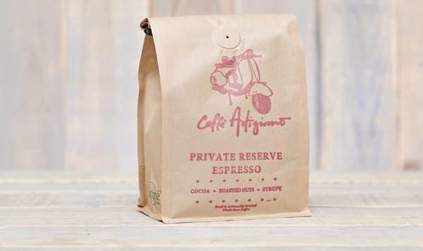Café Artigiano -Private Reserve Espresso -Whole Bean