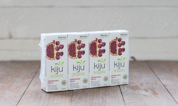 Organic Pomegranate Cherry Juice Boxes