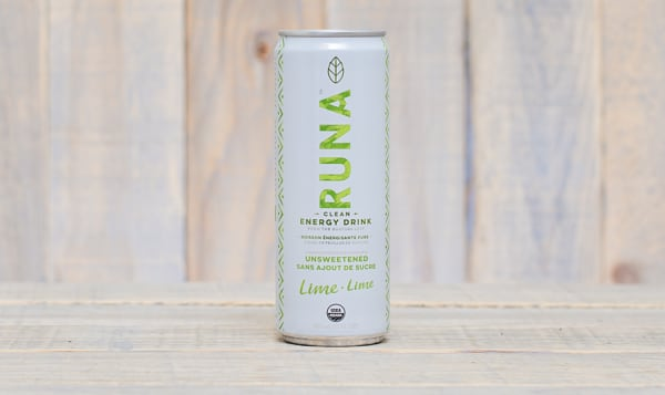 Organic Lime Twist Clean Energy Drink