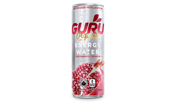 Organic Pomegranate Energy Water