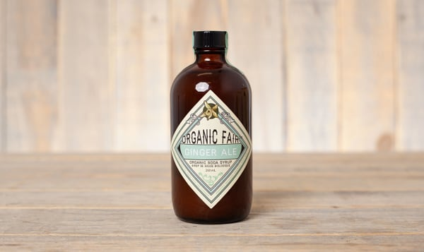 Organic Ginger Ale Soda Syrup