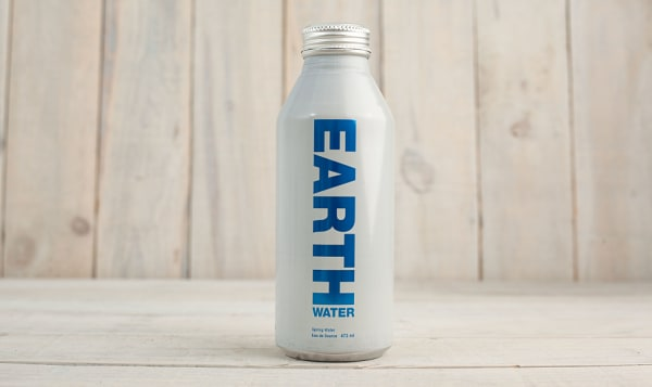 Spring Water in Aluminum Bottle