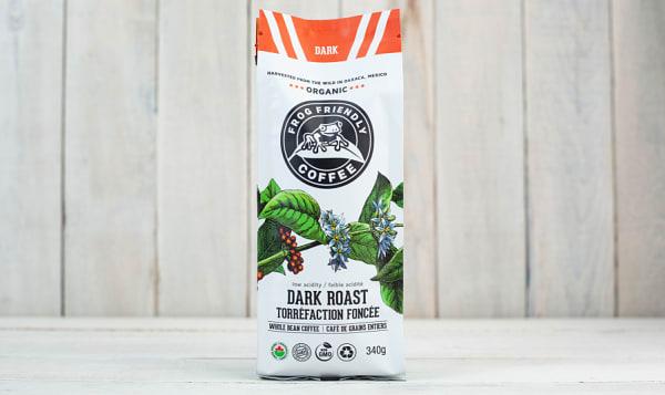 Organic Whole Dark Roast Coffee