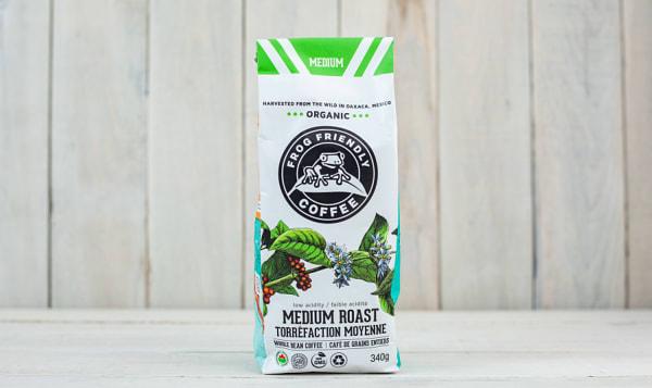 Organic Whole Medium Roast Coffee