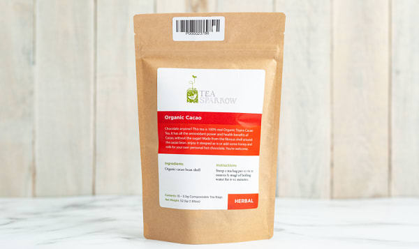 Organic Cacao Tea Bags