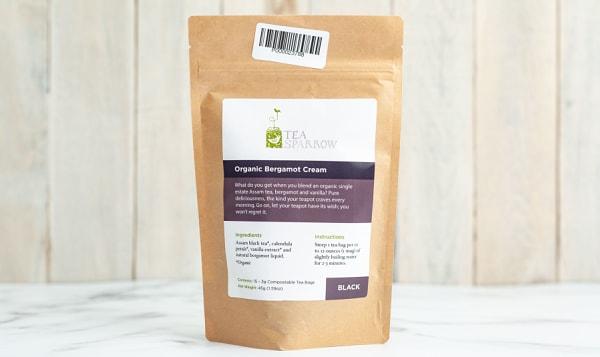 Organic Bergamot Cream Tea Bags