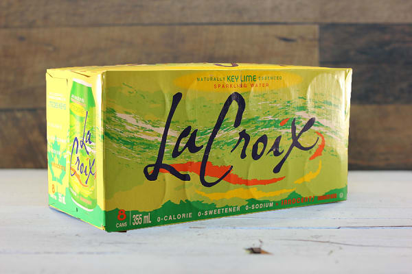 Key Lime Sparkling Water
