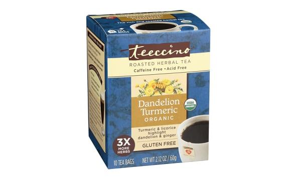 Organic Dandelion Turmeric Tea