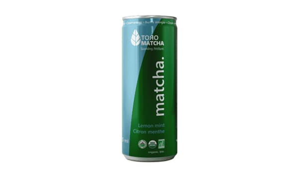 Organic Sparkling Matcha Lemon Mint