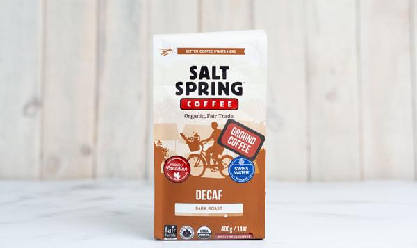 Organic Decaf Dark Coffee, Ground