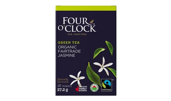 Organic Jasmine Green Tea Bags