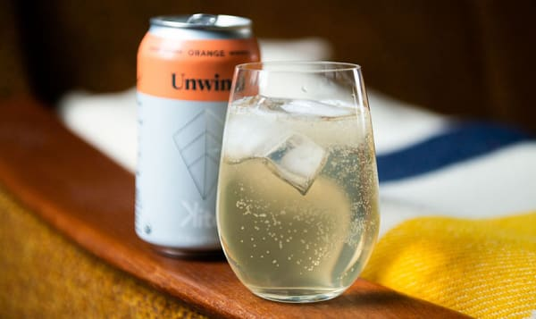 Organic Unwind - Ashwagandha Orange Sparkling Adaptogenic Tea