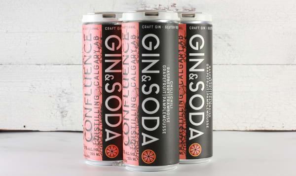 Grapefruit, Raspberry & Chili Gin Soda