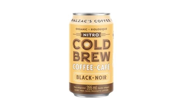 Black Nitro Cold Brew Coffee