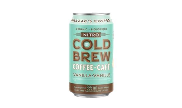 Vanilla Nitro Cold Brew Coffee