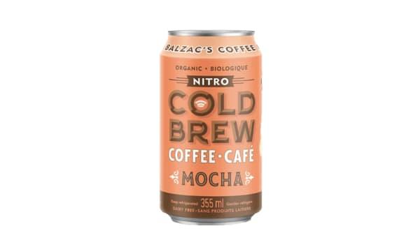Mocha Nitro Cold Brew Coffee