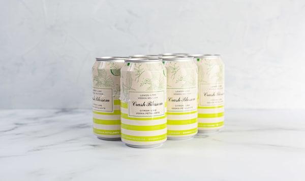 Vodka Soda - Lemon Lime
