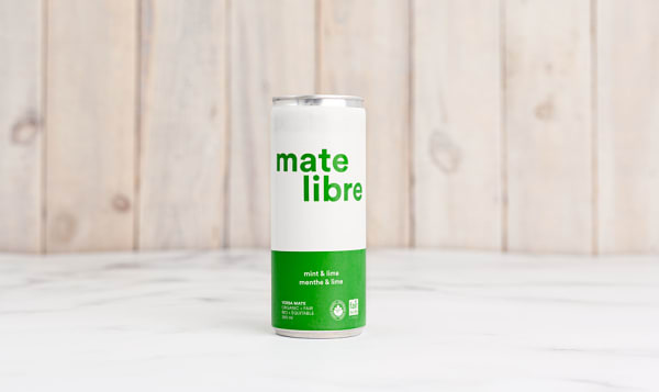 Organic Sparkling Yerba Mate Infusion - Mint & Lime