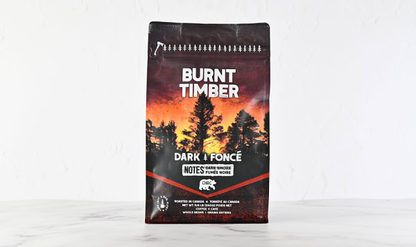 Organic Burnt Timber