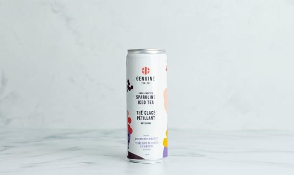 Organic Elderberry Hibiscus Sparkling Iced Tea