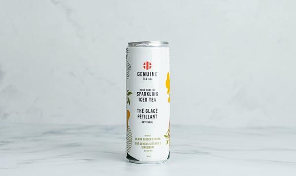 Organic Lemon Ginger Sencha Sparkling Iced Tea