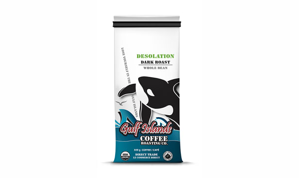 Organic Desolation, Dark - Whole Bean Coffee