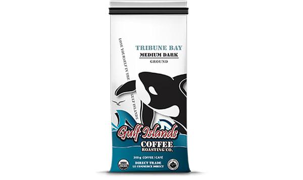 Organic Tribune Bay, Medium/Dark - Ground Coffee
