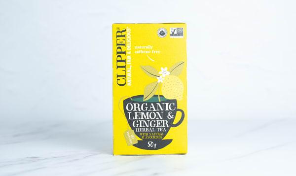 Organic Lemon & Ginger Herbal Tea