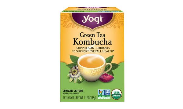 Organic Green Tea with Kombucha