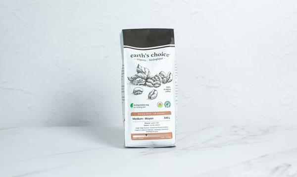 Organic Medium Coffee, Whole