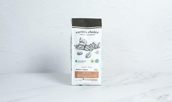 Organic Medium Coffee, Ground