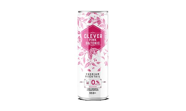 Non-Alcoholic Pink Gin & Tonic