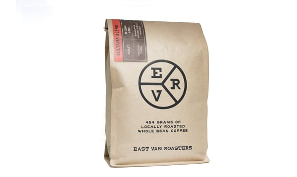 EVR Custom Blend Sultana Coffee - Whole Bean
