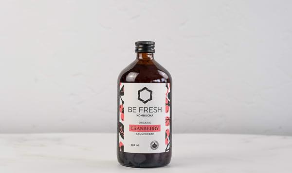 Organic Cranberry Kombucha