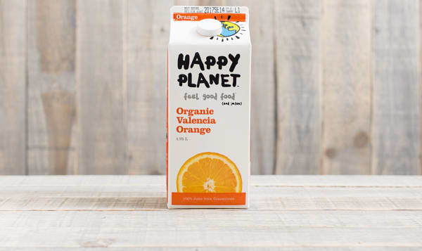 Organic Valencia Orange Juice