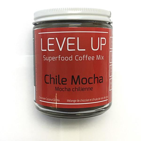 Organic Chile Mocha Coconut Oil Coffee Mix