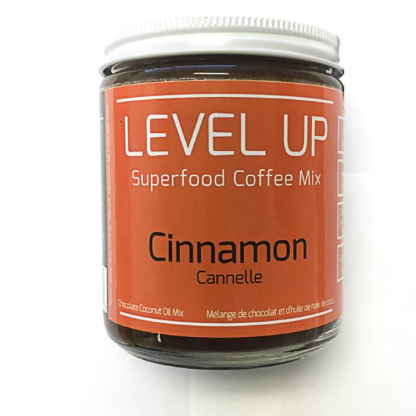 Organic Cinnamon Coconut Oil Coffee Mix