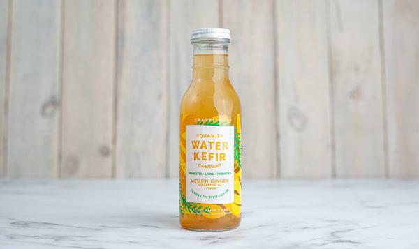 Organic Lemon Ginger Water Kefir