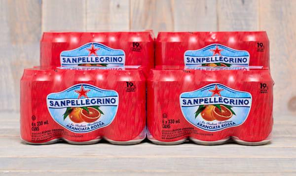Aranciata Rossa Sparkling Water - CASE
