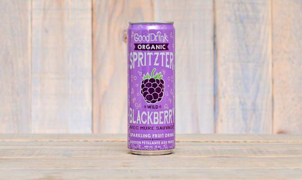 Organic Wild Blackberry Spritzter