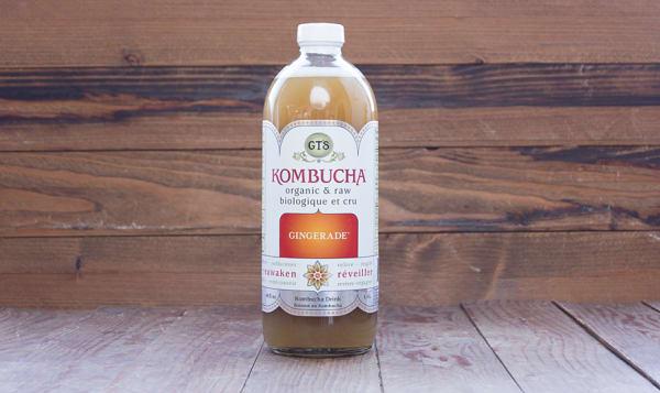 Organic Kombucha - Ginger