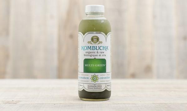 Organic Kombucha Multigreen