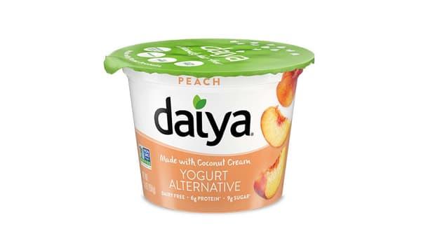 Peach Dairy-Free Yogurt