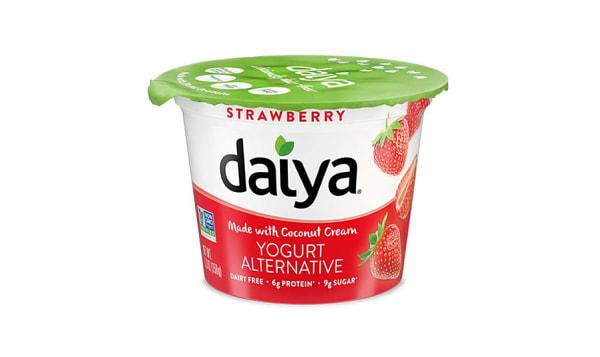 Strawberry Dairy-Free Yogurt