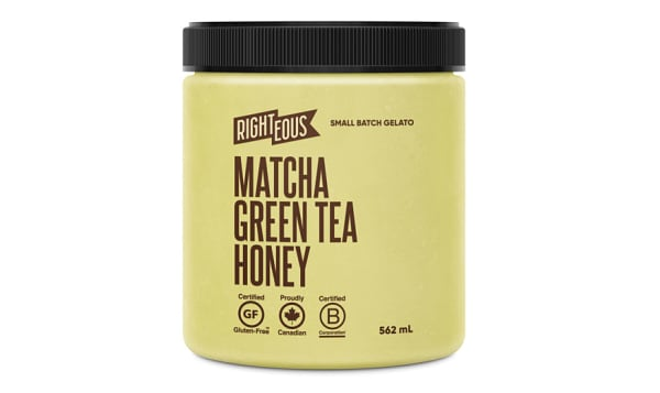 Matcha Green Tea & Honey Gelato (Frozen)